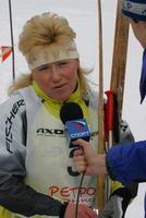 Анфиса Резцова на Ретро-гонке