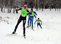 Дмитрий Ляшенко лидирует в финальном забеге. Фото Н.Рязанской
