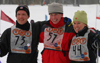 РУССКИЙ ВЫЗОВ. Лыжная гонка DownSideUp.