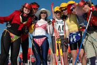 Участники Бикини-спринта