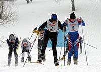 Финал Спартакиады по лыжным гонкам Спорт для всех 2012