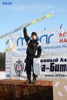 Победитель марафона Василий Ильин. Фото Дмитрия Калинкина