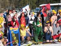 На Народном Лыжном Празднике 2006
