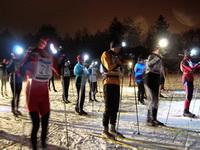 Вечерняя лыжная гонка в Битце 2012