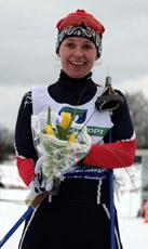 МСМК Юлия Леменчук. Серебрянный призер Битцевского марафона 2008