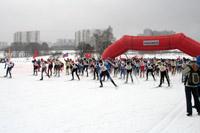 Старт XVII Битцевского марафона. Фото Startcalendar.com