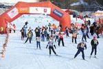 Благотворительная лыжная гонка Русский Вызов 2010