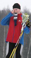 Участница Битцевского марафона 2009 Анастасия Шепелева