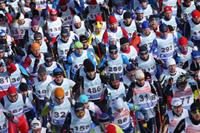 Сотни участников Битцевского марафона
