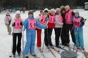 Первенство воскресной школы по лыжным гонкам